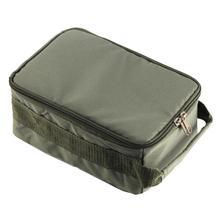 Portable Fishing Bag Multiple Compartments Fishing Line Reel Lure Hook Storage Handbag