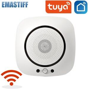 Tuya WiFi Smart CO Gas Sensor Carbon Monoxide Poisoning Leakage Fire Security Detector Alarm App Control Home Security System