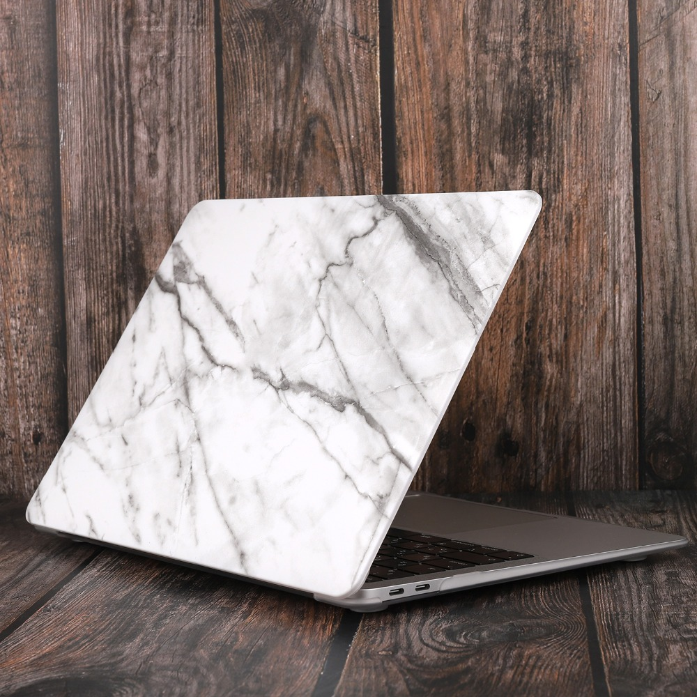 Marble Flower Bling Case for MacBook 90