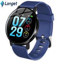 Longet Fitness Tracker H5 Waterproof IP67 Blood Pressure Smart Band Call Full Screen Touch Call Reminder Smart Bracelet Sport