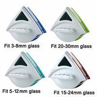 3-30mm janela limpador de vidro ferramenta dupla lado ultra-forte magnética mão escovas de lavagem