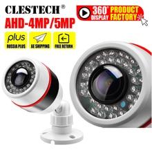 1.7mm סופר רחב זווית פנורמה CCTV AHD מצלמה 5MP 4MP 3MP 1080P SONYIMX326 Fisheye עדשת 3D כדור אפקט אינפרא אדום אבטחת וידאו