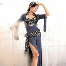 New Belly Dance Clothing Female Adult Elegant Top Practice Clothing Profession Sexy Competition Performance Clothing Long Dress