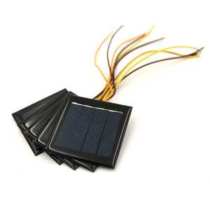 Image 4 - 5pcs/lot 2V 100mA with 15cm extend wire Solar panel Solar cells Epoxy Polycrystalline Silicon DIY Battery Power Charger Module