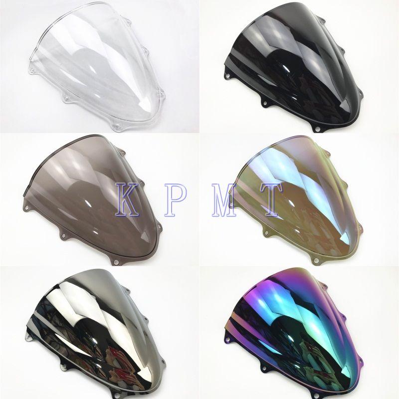 Лобовое стекло Double Bubble для Suzuki GSXR 600 750 GSXR600 GSXR750 2011 2012 2013 2014 2015 2016 2017 2018 K11