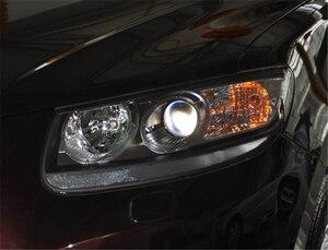 Image 3 - Автомобильная фара Объектив для Hyundai Santa Fe 2008 2009 2010 2011 2012 Автомобильная сменная крышка