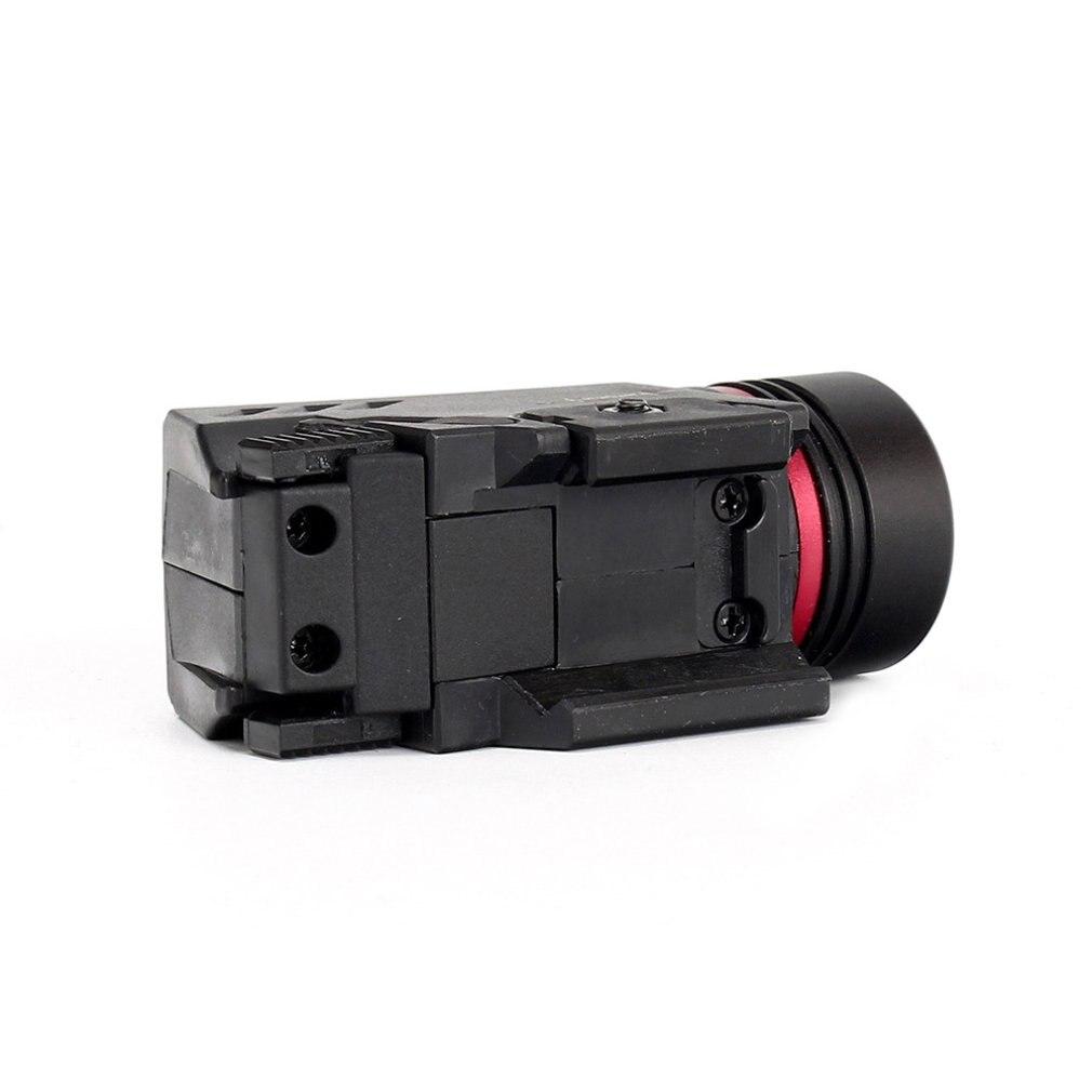 Tactical LED Weapon Gen Light Flashlight Red Dot Laser Sight Military Airsoft Pistol Gun Light for 20mm Rail Mini Pistol Gen-5