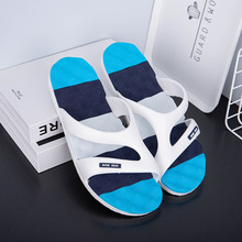 Harrow Fu Slippers Male Men Money Indoor Soft Bottom One Word Drag Non-slip Sandals Thick Bottom Wear Resistant Beach Slippers 2019 new trend embroidery word drag men outside wearing damp slippers anti slip wear thick bottom home bathroom slippers