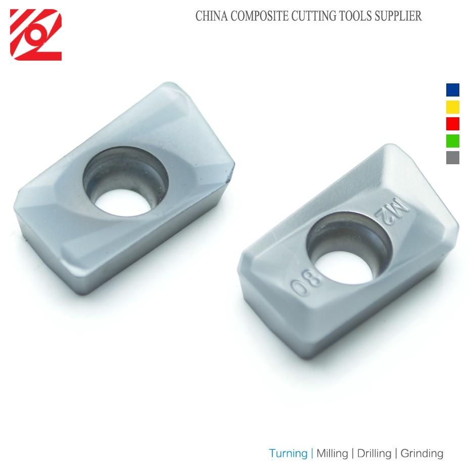 Купить с кэшбэком EDGEV APMT1135 PDER M2 APMT1604 PDER M2 APMT 1135 1604 H2 Carbide Inserts Face Mill Tools CNC Milling Cutter BAP300R BAP400R