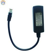 Konwerter PoE 24V 24W dla urządzenia Ubiquiti PoE konwerter gigabit PoE dla urządzeń 24V od 802.3af/at