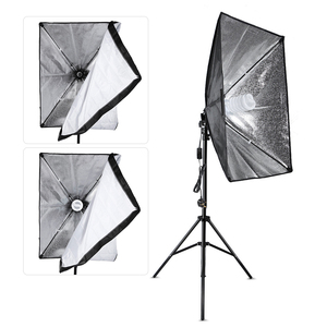 Image 3 - Andoer צילום סטודיו קוביית מטריית Softbox אור תאורת אוהל ערכת תמונה וידאו * חצובה Stand 2 * Softbox * נשיאה תיק