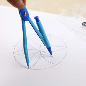 school compass Cute girl stationery student drawing compasso brujula geometry set circulos de madera math set drafting tools