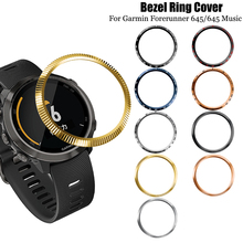 цена на For Garmin Forerunner 645 Bezel Ring Styling Frame Case Cover Protection For Forerunner 645 Music  Anti Scratch Protector Ring