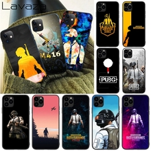 Lavaza pubg winner Silicone Soft Case for iPhone 12 Mini 11 Pro XS Max XR X 8 7 6 6S
