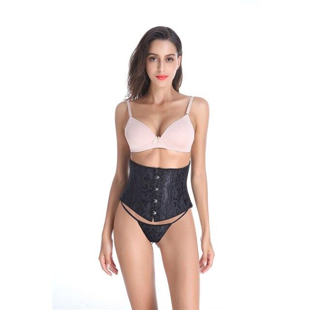 Корсеты женские с 24 косточками утягивающее белье для талии