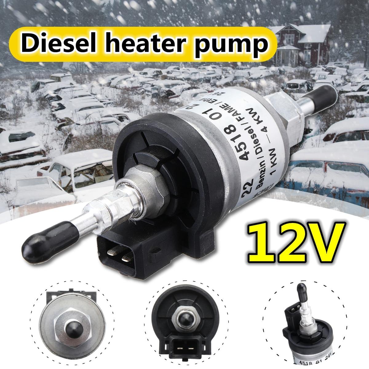 12 В/24 В 10 А 22 МПа 1-8 кВт для Eberspacher Электрический масляный топливный насос аксессуары для автомобиля для укладки Webasto Eberspacher обогреватели для г...