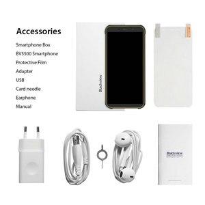 "Image 5 - Blackview BV5500 Pro Originale IP68 Impermeabile 5.5 ""Rugged Smartphone 4400mAh 3GB + 16GB Android 9.0 Torta 4G Telefono Cellulare Allaperto"