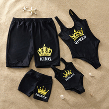 цена на Family Matching Swimwear Mother Daughter Swimsuit Mommy And Me Bikini Clothes Family Look Father Mom Daughter Son Bathing Suit