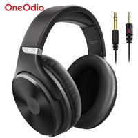 Oneodio Überwachung Studio HIFI Headset Über Ohr Verdrahtete Kopfhörer Professional Studio DJ Kopfhörer Für Mischen Aufnahme