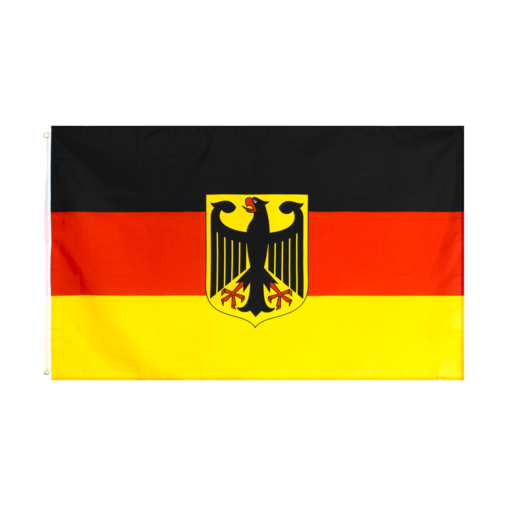 Xiangying 90*150cm Germany German Flag Coat of Arms Eagle Flag