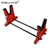 VULPO Hunting Airsoft Tactical Gun Rifle Cleaning And Maintenance Cradle Shot gun Smith Bench Rest Stand Rifle Holder Tool Rack