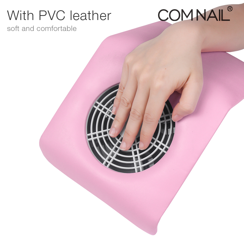 High Power  Strong Nail Dust Suction Fan Collector With 2 Dust Bags Nail Art Equipment Nail Salon Tools  Leather Vacuum Cleaner