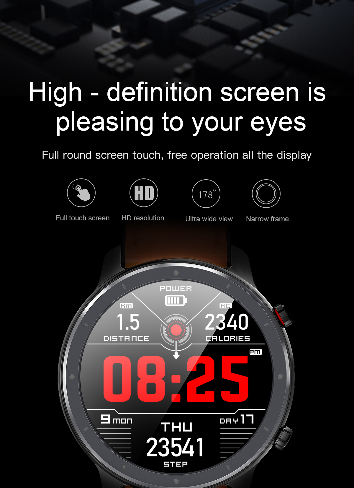 H4a334a71a46340b7aa7b46627c7526d9L LEMFO 2020 Smart Watch Men Full Touch Screen  IP68