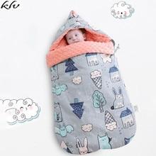 Newborn Baby Sleeping Bag Cartoon Animal Cotton Stroller Envelope Sleeping Bag