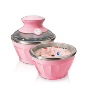 Ice Cream Machine Household Fully Automatic Double Bowl Self-control Ice Cream Machine Small-sized Fruits Ice Cream Machine