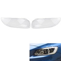 Car Headlight Lens Cover Replacement Headlight head light lamp Shell Cover for Volvo S60 S60L 2014 2015 2016 2017 2018 2019