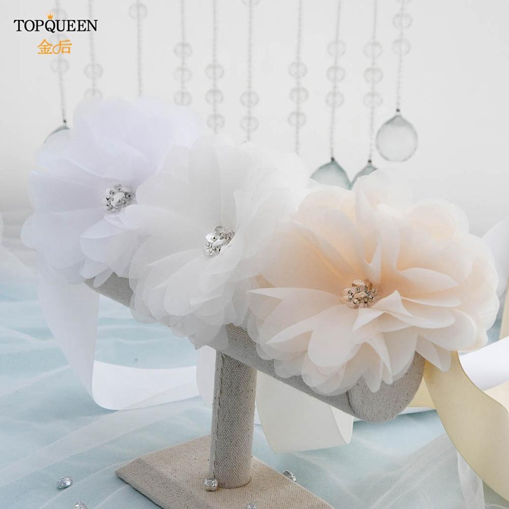 TOPQUEEN SH70 woman party belts evening dress belt crystal wedding belt for  dresses bridal accessories gold bridal belt-Leather bag