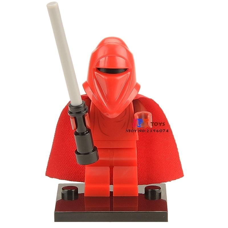 Single Sale Superhero Force Awakens Red Guard Building Blocks Model Bricks Toys For Children Action Figures