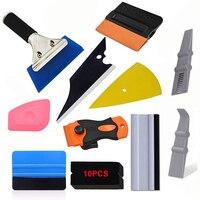 Foshio Pro Autoruit Tint Film Carbon Fiber Toepassing Gereedschap Car Wrapping Gereedschap Kit Vinyl Stick Zuigmond Rubber Water Schraper op