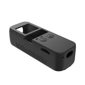 Image 5 - 6 kleuren Set Zachte Siliconen Case DJI OSMO POCKET Protector Cover met Neck Strap Lanyard voor Osmo Pocket Handheld Gimbal