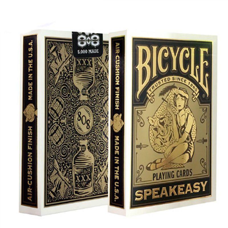 Speakeasy Club 808 Playing Cards 88*63mm Paper Magic Category Poker Cards For Professional Magician