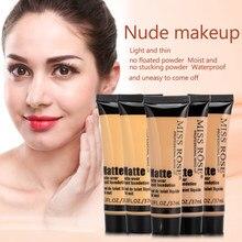 37ML Gesicht Matte-tragen Flüssige Foundation Lange Tragen Basis BB Creme Concealer Natürliche Öl Steuerung Lange Anhaltende Make-Up kosmetik