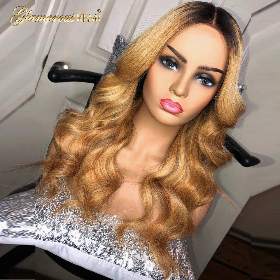 1b27 perucas de cabelo humano da parte