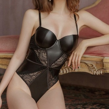 Women Lace Temptation Bodysuit INTIMATES Underwire