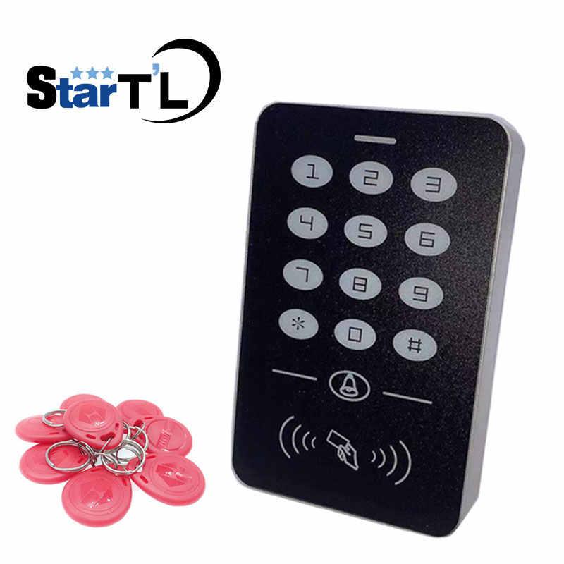 RFID 125 Khz Thẻ Cảm Ứng Điều Khiển Truy Cập Hệ Thống RFID/EM Bàn Phím Thẻ Bộ Điều Khiển Truy Cập Mở Cửa Chủ Bộ Điều Khiển