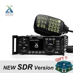 2019 Nieuwste XIEGU G90 QRP HF Amateur Radio Transceiver 20 W SSB/CW/AM/FM 0.5- 30 MHz SDR Structuur met Ingebouwde Auto Antenne Tuner