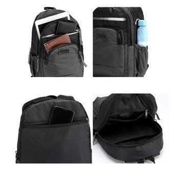 New 2020 Reflective Strip School Backpack Outdoor Men Backpack Waterproof Bag Satchel Classic Casual Women Travel Backpack 2