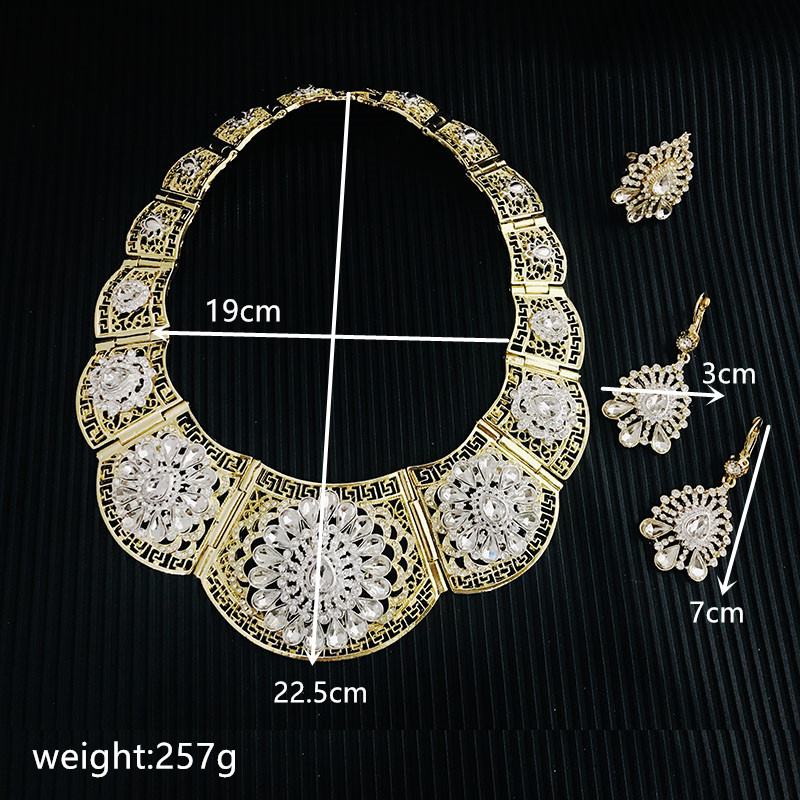 Classic selling good wedding Party jewelry setset Artificial Jewellery Necklace Women Women's Accessories