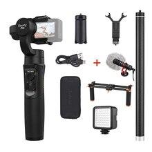 Hohem iSteady Pro/Pro2 шарнирный стабилизатор для камеры GoPro 3-Axis Ручной Стабилизатор для экшн-Камеры GoPro Hero 7/6/5/4/3 для sony RX0 для спортивной экшн-камеры SJCAM YI Action Камера