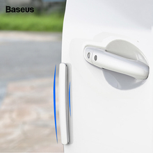 Baseus 4pcs Car Door Guard Edge Corner Protector Guards Styling Molding Protection Strip Scratch Protector Car Door Crash Bar auto car door guard edge corner bumper 8pcs set guards buffer trim molding protection strip scratch protector car door crash bar