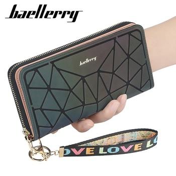 Baellerry 2021 Luxury Korean Womens Wallets and Purses Leather Phone Clutch Slim Designer Ladies Wallet 1