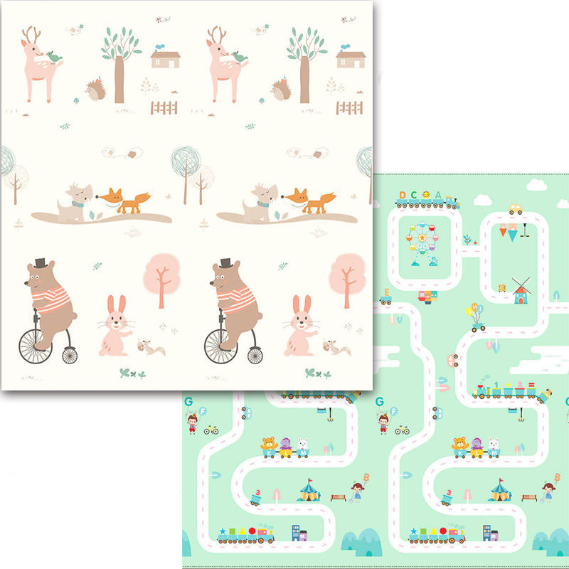 xpe-mat-1cm-15cm-2cm-thick-cartoon-playmat-children's-folding-non-slip-180x200cm-kids-play-mat-baby-gyms-playmats