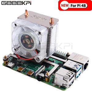 GeeekPi In Stock! ICE-Tower CPU Cooling Fan Super heat dissipation Blue Light for Raspberry