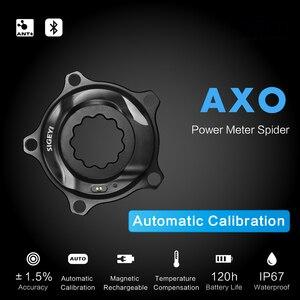 Image 2 - SIGEYI אופני עכביש כוח מטר כביש MTB AXO Fit SRAM הרוטור Crank עבור Shimano 53/39T 52/36T 50/34T כושר כתר עגול/סגלגל Chainring
