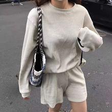 Новинка 2020 повседневные шорты с длинными рукавами в Корейском