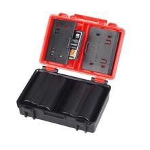 カメラバッテリー収納ボックスメモリカードホルダーソニーNP FW50 NP W126 NP BX1 ニコンEN EL14/5 収納ボックス